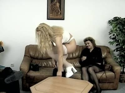 Mutter und Tochter auf der Casting Couch