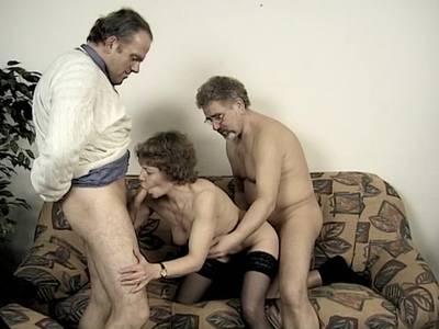 Reifes Couple beim Pornocasting