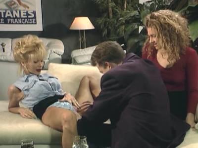 Dreier mit Dolly und Nylon Lady